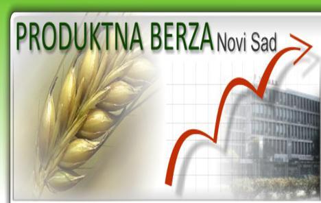 Praznična atmosfera na tržištu žitarica