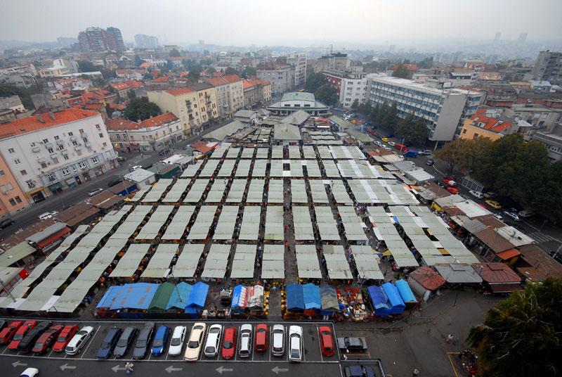 """""""Kalenić"""" postaje pijaca – trg sa podzemnom garažom"""