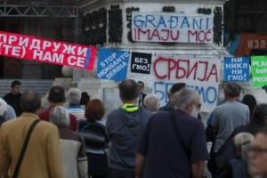 Akcija protiv GMO hrane u Srbiji