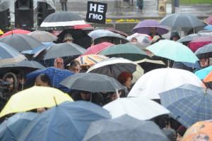 Protest protiv GMO u Beogradu
