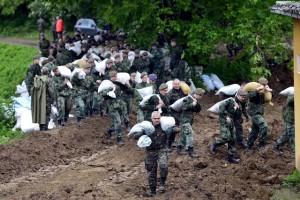 Hitna evakuacija sela uz Savu