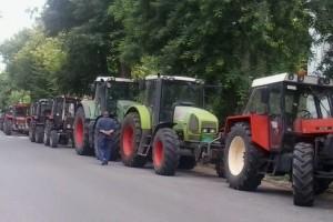 Protest zemljoradnika u Kuli