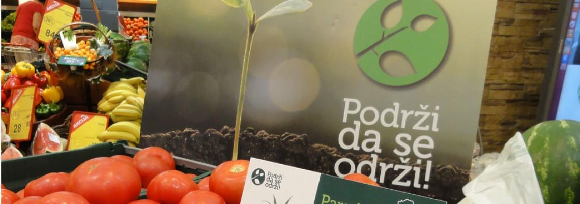 """Održivo voće i povrće u prodavnicama """"Maxi"""" i """"Tempo"""""""