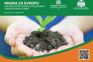 "Četvrti poljoprivredni forum ""Hrana za Evropu"""