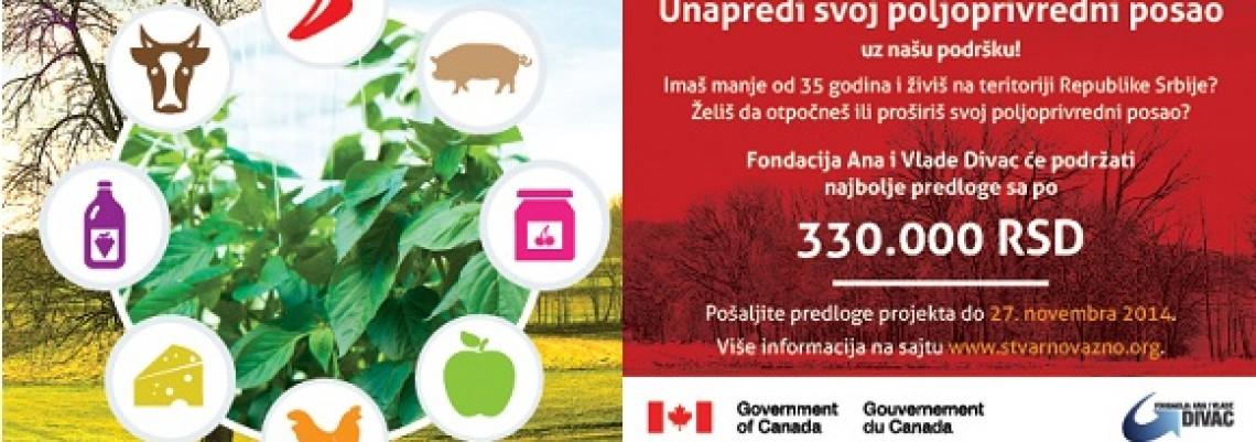 Konkurs za mlade poljoprivrednike