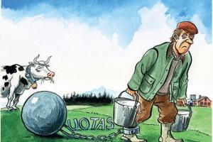 Od aprila bez kvota za mleko u EU
