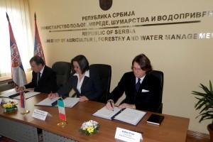 Saradnja Srbije i Italije u poljoprivredi