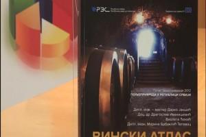 RZS izdao publikaciju atlas srpskih vinarija i vina