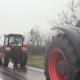 Traktorima krenuli u Beograd
