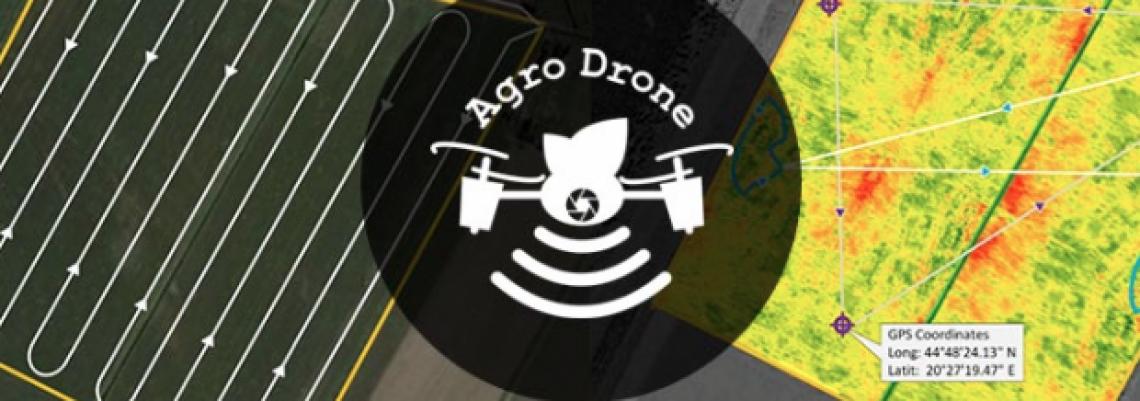 Dron za analizu i tretiranje poljoprivrednih polja