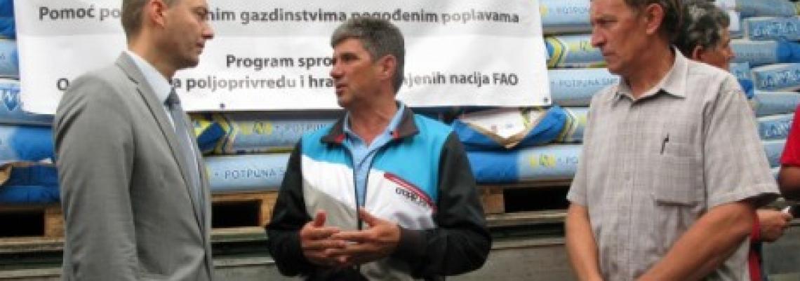 FAO stiže u Srbiju, proverava oporavak od poplava