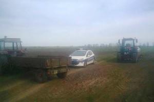Policija sprečila radnike Graničara da uđu u njive