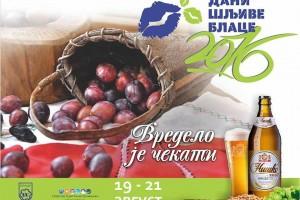 Dani šljive od 19. do 21. avgusta u Blacu