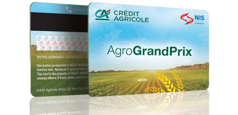 Agro Grand Prix kreditna kartica u ponudi Crédit Agricole banke