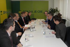 Nedimović i Devenport o saradnji i IPARD programu