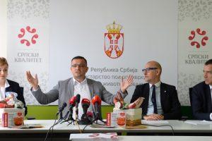 """Oznaka """"Srpski kvalitet"""" za prvih osam proizvoda"""