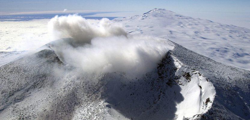 Ispod ledene kore otkriven 91 vulkan