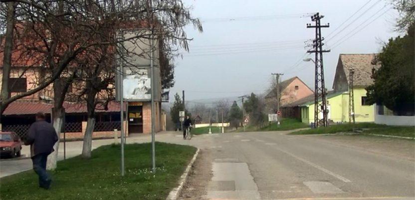 Čalma, selo neženja, razbilo maler