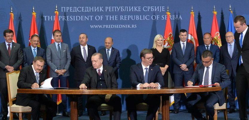 Turska i Srbija potpisale 12 sporazuma