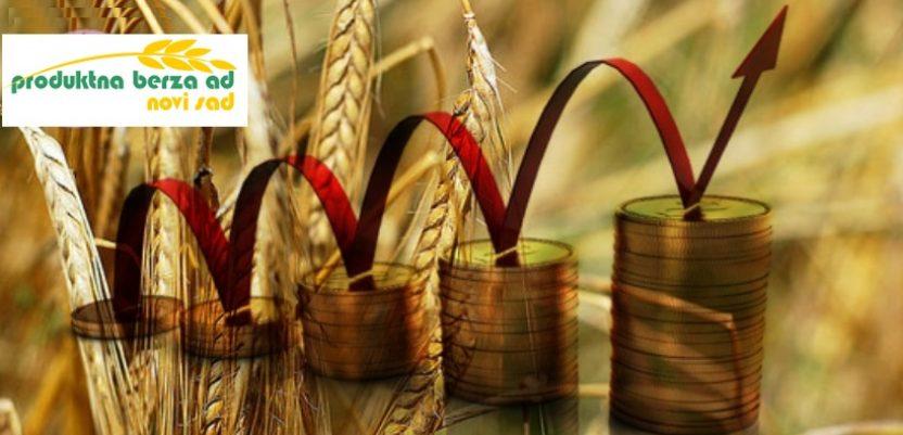 Rast cena kukuruza i soje na berzi