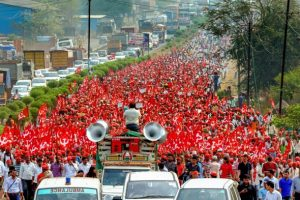 Protest indijskih farmera
