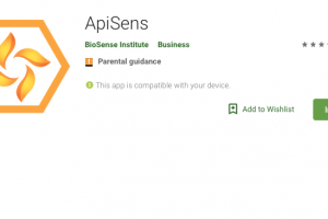 Katastar pčelinjih paša na Android aplikaciji
