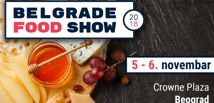 Konferencija Belgrade food show 5. i 6. novembra