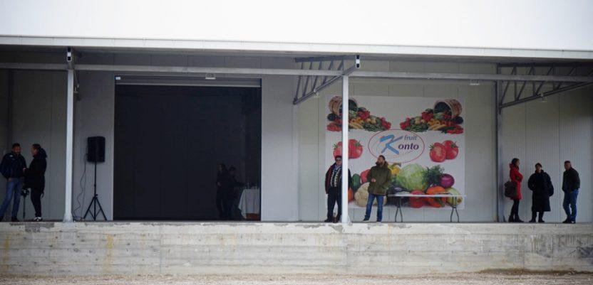Otvoren prvi distributivni centar povrća na jugu Srbije
