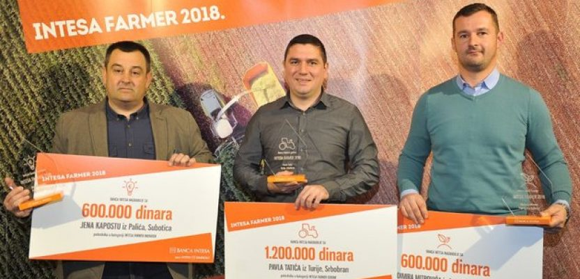 Banca Intesa nagradila najbolje farmere