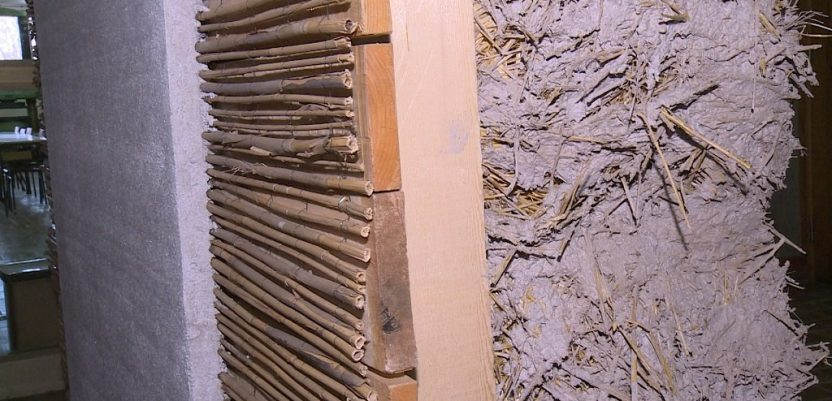 Kuće od trske i slame postojane i štedljive
