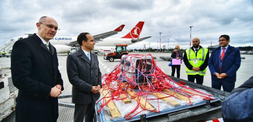 Dobrila se vratila avionom iz Turske, dočekao je ministar Trivan