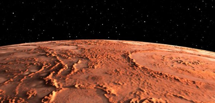 Na Marsu otkriven ogroman rezervoar zamrznute vode
