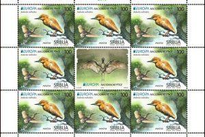 Žuta čaplja naš adut na takmičenju za najlepšu poštansku marku