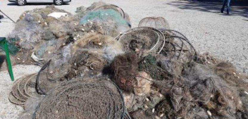 Uništeno preko 100 kilometara ribarskih mreža