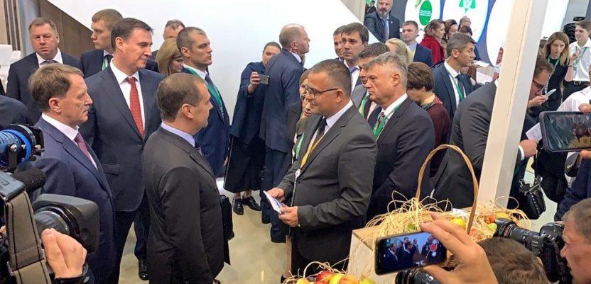 Srbija, zemlja partner, na sajmu poljoprivrede u Moskvi