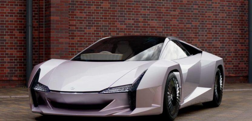 Japanci napravili super automobil od celuloze