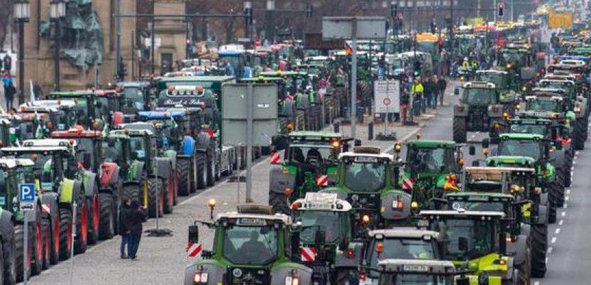 Protest poljoprivrednika u Berlinu
