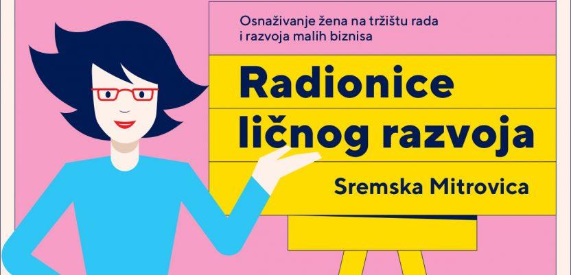 Besplatne edukacije za žene iz Sremske Mitrovice i okoline