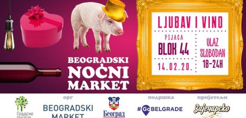 Beogradski noćni market u znaku ljubavi i vina
