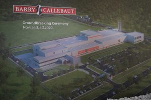 Počela izgradnja fabrike čokolade u Novom Sadu