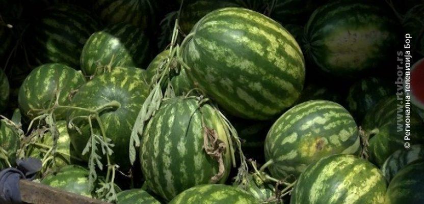Petostruko uvećan promet lubenica na Veletržnici