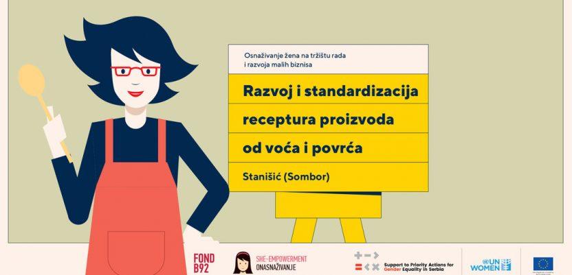 Radionica recepture za žene iz Sombora i okoline