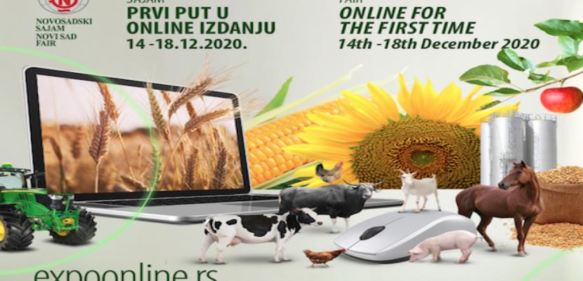 Otvoren virtuelni Poljoprivredni sajam