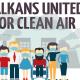 Počela kampanja Ujedinjeni Balkan za čist vazduh