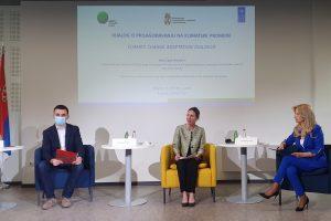 Održan prvi Dijalog o prilagođavanju Srbije  na klimatske promene