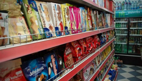 U Srbiji 2012. proizvedeno 7,6% manje slatkiša nego prethodne godine