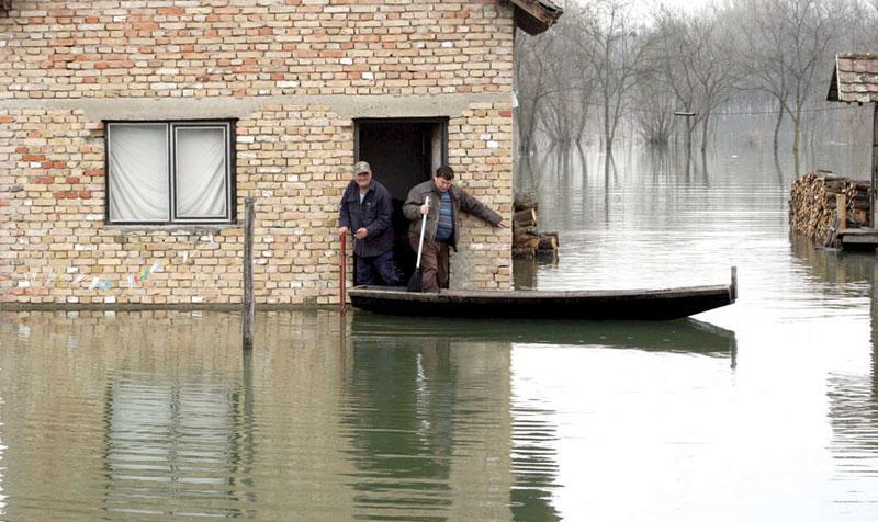 RS: Borba sa poplavama, sad i Sava pretnja