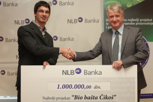 """Milion dinara za projekat """"Bio bašta Čikoš"""""""