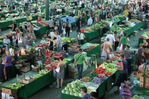 Gradska tržnica u Jagodini – pijaca za primer