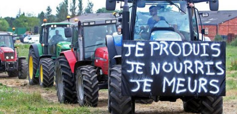 Visoka stopa samoubistava među francuskim poljoprivrednicima
